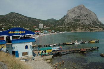 Новый Свет — один из самых  живописных крымских курортов